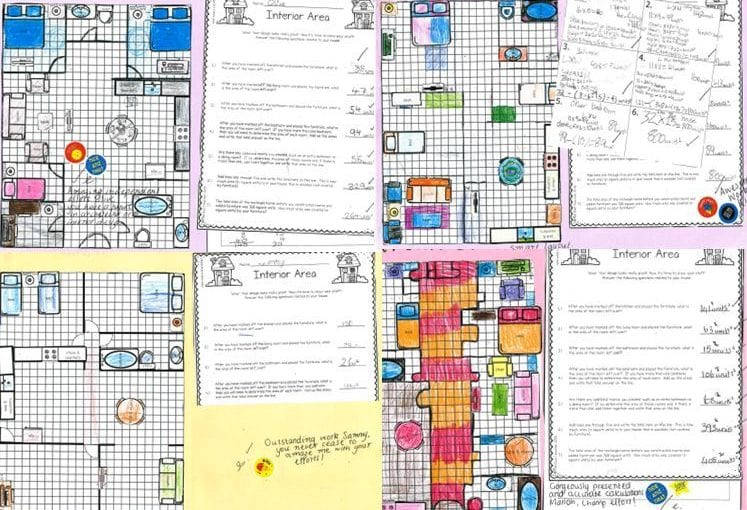 Design a House & Interior Floor Plan -A STEM Project.